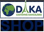 Internetový obchod cestovnej kancelárie DAKA